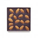Шоколад горький, 72%, Со сладким миндалём, 90 гр.