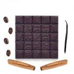 Шоколад горький, 72%, С кофе, ванилью, корицей, 90 гр.