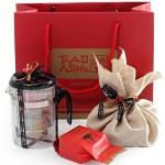 """Пакет подарочный красный """"Баолинь"""", большой."""